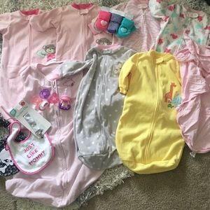 Lot of baby girl items